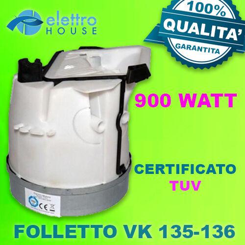 MOTORE FOLLETTO VK120 VK121 VK122 COMPATIBILE QUALITA/' CERTIFICATO CEE 2 VENTOLE